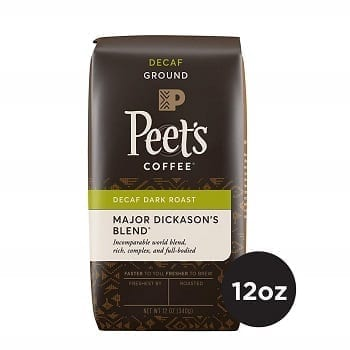 Peet's Coffee Decaf Major Dickason's Blend