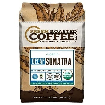 Sumatra Decaf Organic Fair Trade Coffee