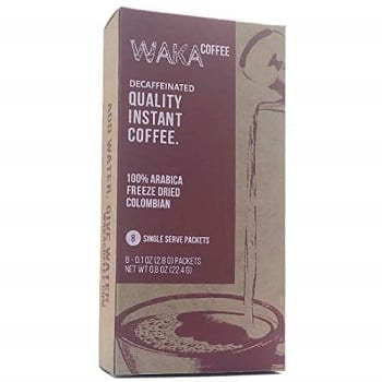 Waka Coffee Quality Decaffeinated Instant Coffee