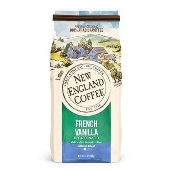 New England Coffee, Decaffeinated French Vanilla