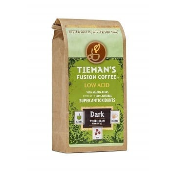 Tieman's Fusion Coffee, Low Acid Dark Roast