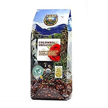 Java Planet - Colombian USDA Organic Coffee Beans