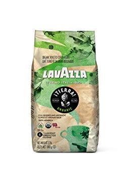 Lavazza Organic Tierra! Whole Bean Coffee Blend Review