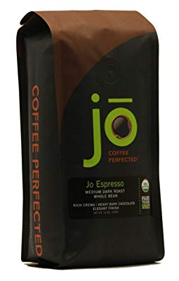 The Jo Espresso Whole Bean Organic Arabica Espresso Coffee Review