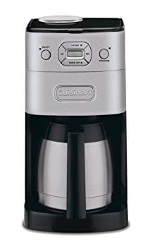 #3 Cuisinart DGB-650BCGrind and Brew Automatic Coffeemaker Review