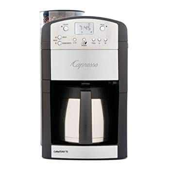 Capresso 465 CoffeeTeam with Conical Burr Grinder