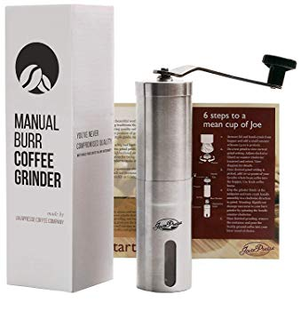 JavaPresse Manual Conical Burr Mill Coffee Grinder Review