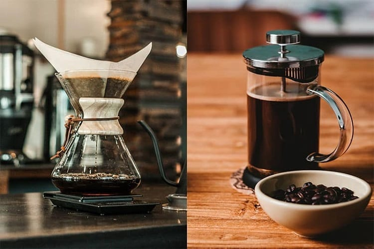 Chemex And French Press