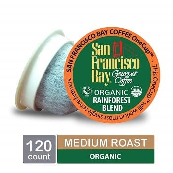 San Francisco Bay Onecup Organic Coffee