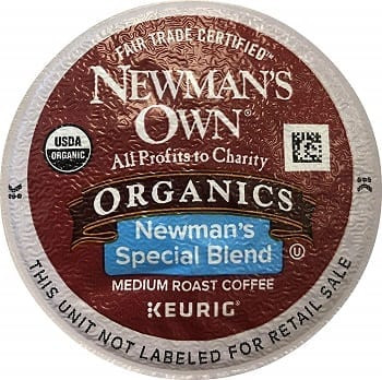 Newman's Own Special Blend Coffee For Keurig