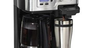 Coffee Makers With Hot Water Dispenser and Water Line