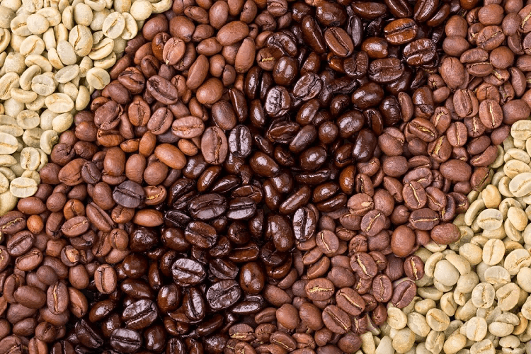 Different Coffee Beans