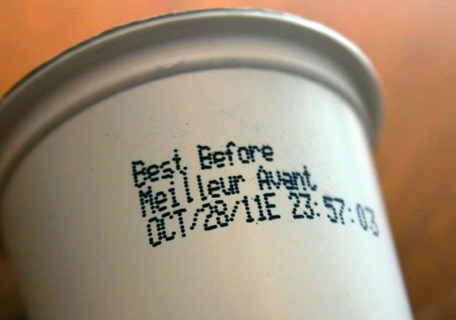 K-Cups Best Before Date