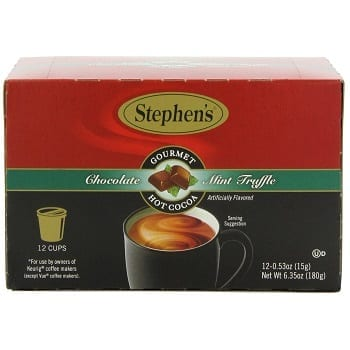 Stephen's Gourmet Mint Truffle Hot Cocoa Single Cup