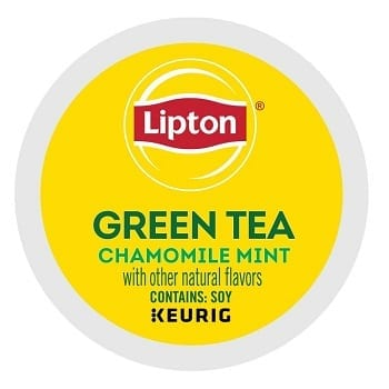 Lipton Green Tea Chamomile Mint K-Cup