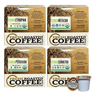 French Roasted Coffee LLC Organic Half Caf Coffee Pod Review
