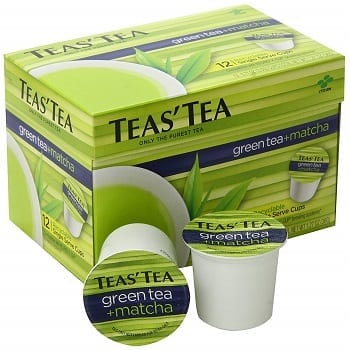 Teas' Tea Green Tea Matcha Single Serve Cups