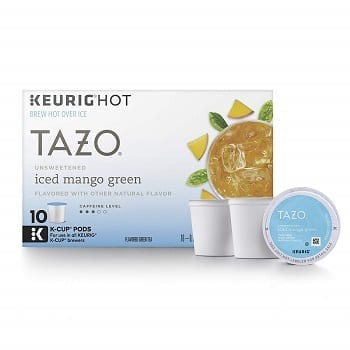 Tazo Unsweetened Iced Mango Green Tea K-Cup