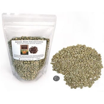 Brazil Adrano Volcano Coffee Green Unroasted Coffee Beans