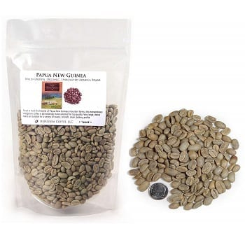 Unroasted Arabica Beans