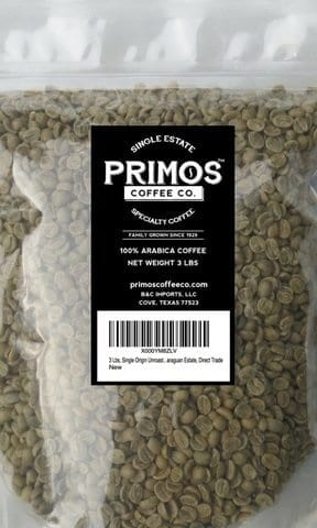 Single Origin Unroasted Green Coffee Beans