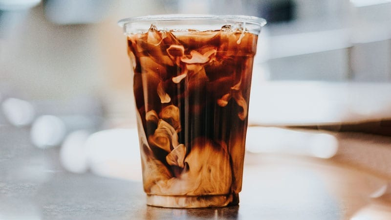 Cold Brew Coffee in Cup