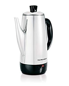 Hamilton Beach 40616 Stainless-Steel 12-Cup Electric Percolator Review