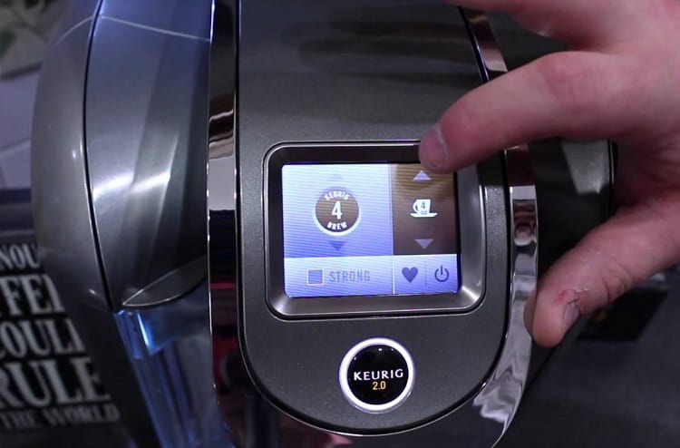 Making Coffee With Keurig 2.0