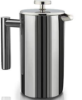 SterlingPro Double-Wall Stainless Steel French Press Review