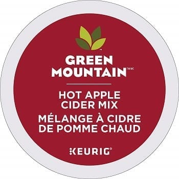 Green Mountain Hot Apple Cider Single Serve Capsules
