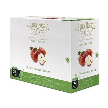 Barrie House Hot Apple Cider Single Cup Capsules