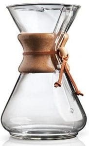 Chemex Pour Over Glass