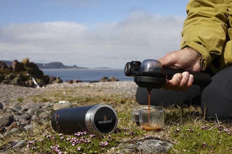 Cooking Coffee While Camping