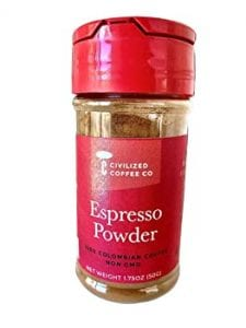 Civilized Coffee Espresso Coffee Powder
