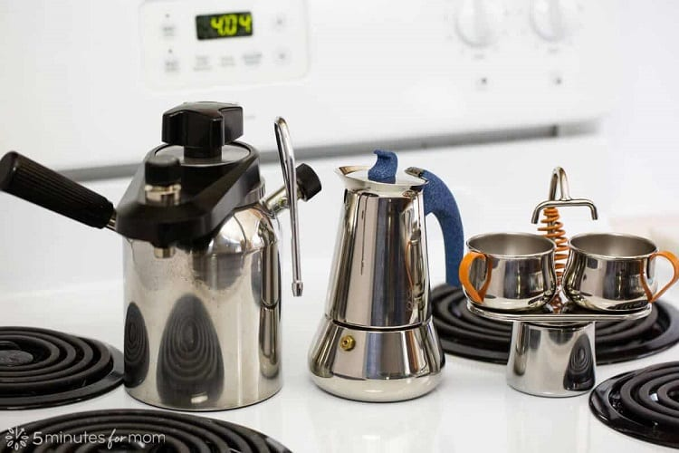 Different Stovetop Coffee Makers
