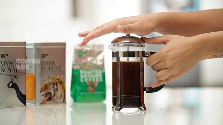 Making French Press At Home