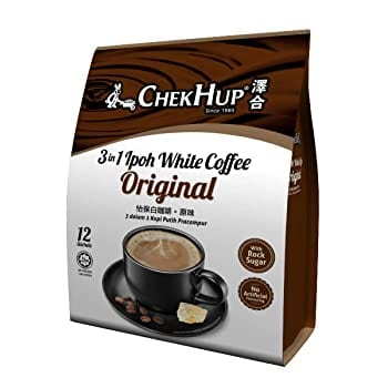 Malaysia Chek Hup 3 In 1 Ipoh White Coffee