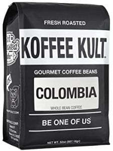 Koffee Kult Colombian Huila Fresh Coffee Beans