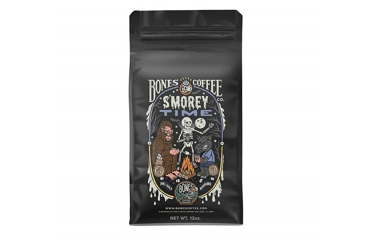 Bones Coffee Company Flavored Coffee Beans Review