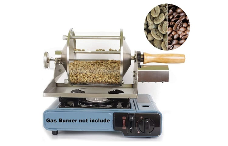 Coffee Roaster Gas Burner Coffee Roasting Machine
