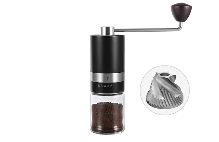 VEVOK CHEF Manual Coffee Grinder Review