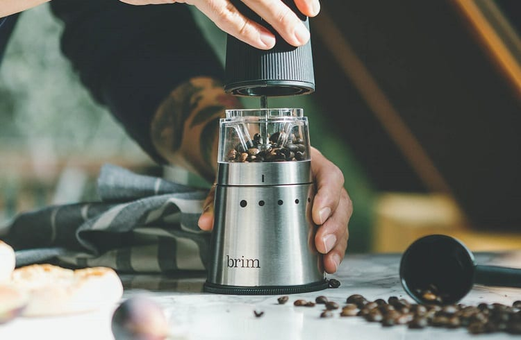 battery powered coffee grinder