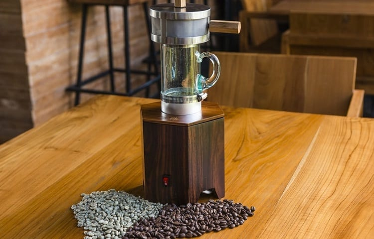 steps for coffee roasting at home