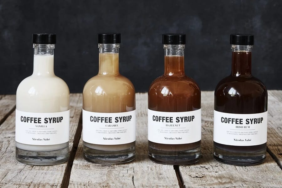 guide to coffee syrups